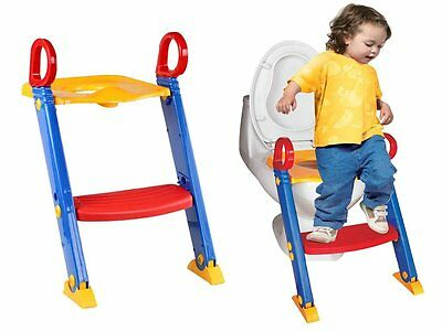 Child Toddler Kids Toilet Potty Trainer Training Chair Step Up Ladder Urinal New