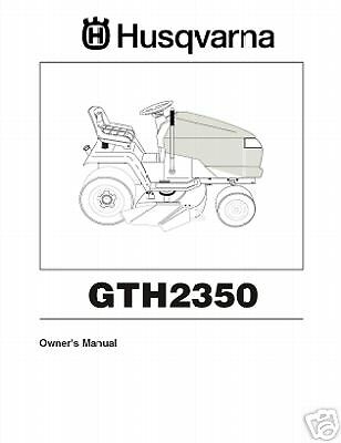 husqvarna yth2348 lawn tractor owners parts manual 14 99 picclick rh picclick com Husqvarna 2654 Problems GTH2548 Husqvarna Carburetor Dismantled