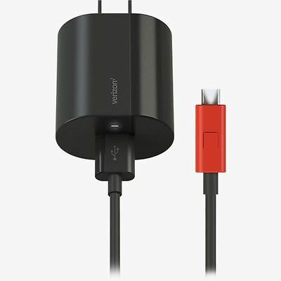 Verizon Wall Charger Fast Charge Technology for micro USB 6' cable