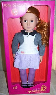 """Our Generation ELLA GRACE 18"""" Doll New"""