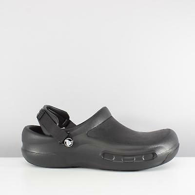 Crocs BISTRO PRO Unisex Mens Womens Comfy Croslite Professional Work Clogs Black