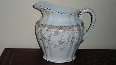 Pretty Antique Porcelain Pitcher Perfect For Flowers And Gift-Giving