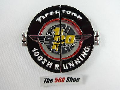 2016 Indianapolis 500 100TH Running Firestone 1911 Wasp Tire Lapel Pin 1 of 2800