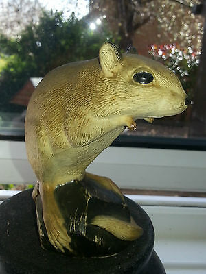 Purbeck Pottery  Dorset Like Poole  An Unusual Gerbil Figure In Vgc
