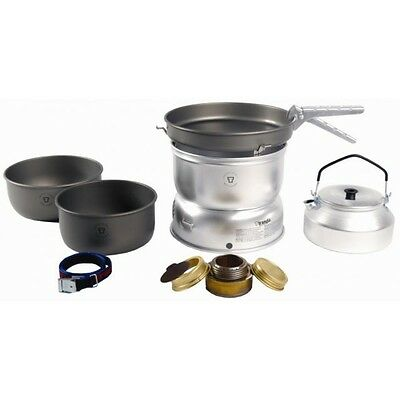 Trangia 25 Cooker 25-8 Ul Hard Anodized - Including Kettle