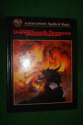 Advanced Dungeons & Dragons - Player's Option: Spells & Magic #2163 HC Hardcover