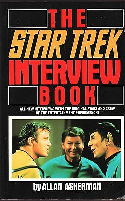 The Star Trek Interview Book / Alan Asherman 1988