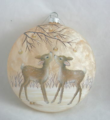 Stony Creek Christmas Ornament Pair of Fawns NEW
