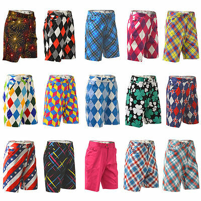 Royal & Awesome Golfshorts Alle Arten Taille 30,32,34,36,38,40,42,44 Räumung