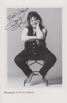 Dawn French Printed Signed Photo
