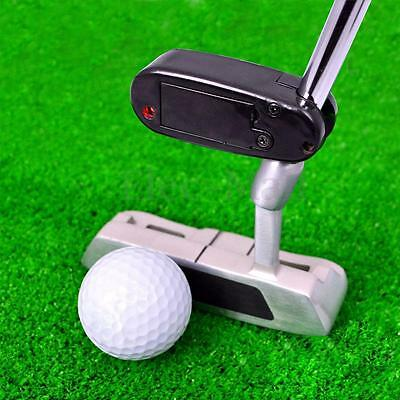 Golf Putter Baton IR Laser Aimer Putting Green Swing Trainer Aid Training Tool