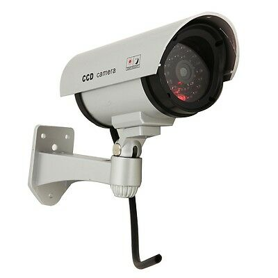 LED light Simulation Fake Security System Gun Camera for House Office Market