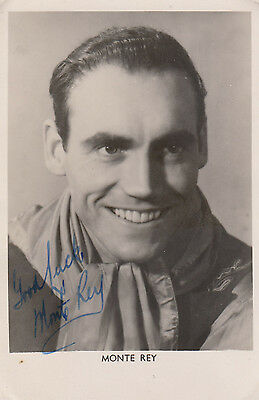 Monte Rey Printed But Hand Appearance Signed Photo