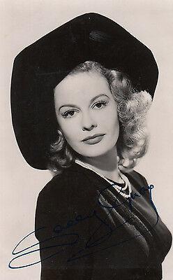 Sally Gray Vintage 1950s Printed Signed Photo