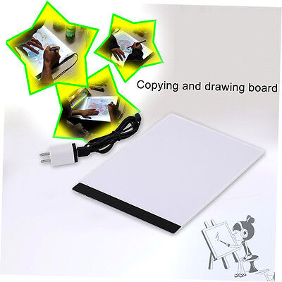 Pratical A4 LED Light Pad Copy Pad Drawing Tablet LED Tracing Painting Board LKC