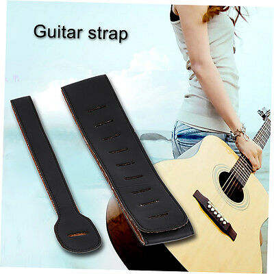 Guitar Strap Bass Acoustic Electric Unbranded Leather Best Guitar straps XRAU