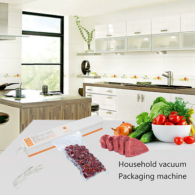 220V Food Home Electric Vacuum Sealer Packaging Machine Sealer Vacuum Packer LKC
