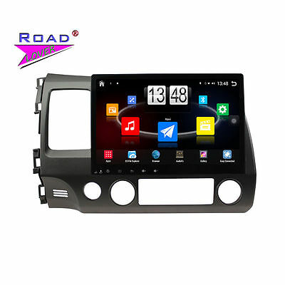 10.1Inch Android 4.4 Car Media Center For Honda Civic 2006-2011 Stereo GPS Navi
