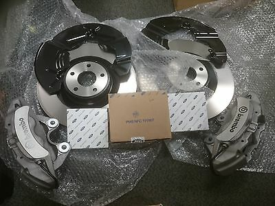 Ford Focus Rs Mk3 Front Brake Kit New Silver St250 Upgrade