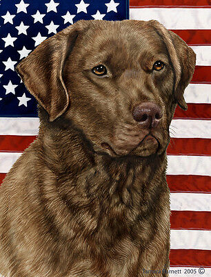 Garden Indoor/Outdoor Patriotic II Flag - Chesapeake Bay Retriever 320701