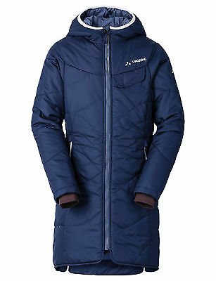 VAUDE Girls Mathilda Coat sailor blue Gr. 110/116 - warmer Mädchen Wintermantel