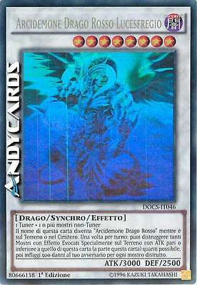 Arcidemone Drago Rosso Lucesfregio ☻ Ghost ☻ DOCS IT046 ☻ YUGIOH ANDYCARDS