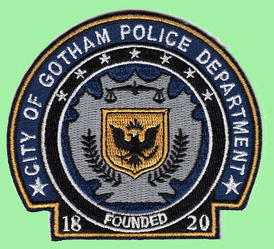 Batman - Gotham Police Dept. Patch - Uniform Aufnäher neu