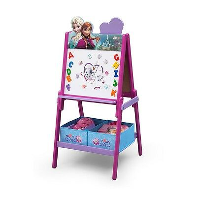 Disney Frozen Wooden Double Sided Activity Easel with Storage