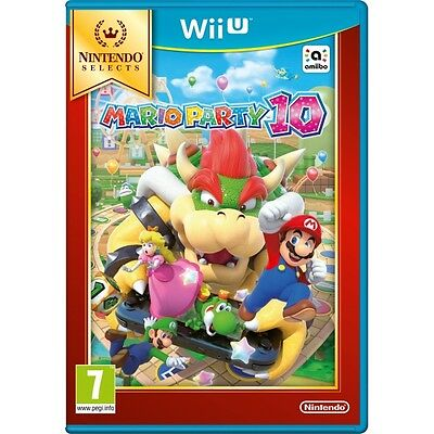 Mario Party 10 Wii U Game (Selects) Brand New