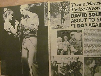 David Soul, Starsky and Hutch, Two Page Vintage Clipping