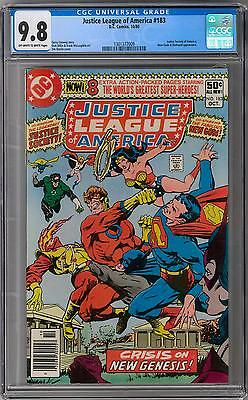 Justice League of America #183 CGC 9.8 (OW-W) Darkseid Rising