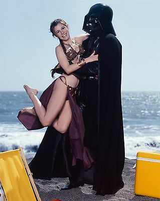 """Carrie Fisher 10"""" x 8"""" Photograph no 14"""