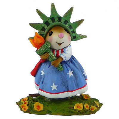 STATUESQUE by Wee Forest Folk, WFF# M-448b, Statue of Liberty Mouse