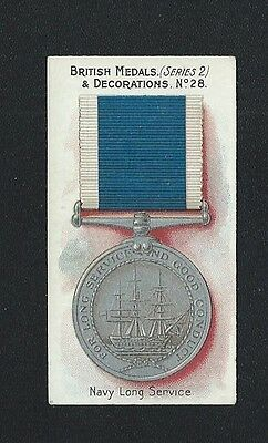 Taddy British Medals & Decorations No 28 Navy Long Service