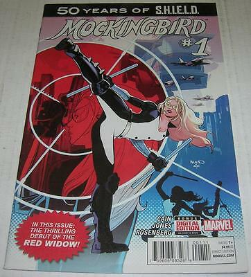 MOCKINGBIRD SHIELD 50TH ANNIVERSARY #1 (Marvel) 1st RED WIDOW (VF-) 1st PRINT