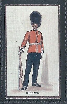 Hill Types Of The British Army Verbena No 3 The Scots Guards