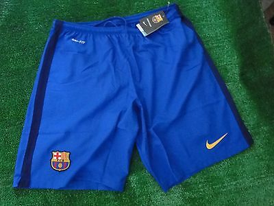 Barcelona Away Football Shorts  2015-16 Size Medium And Extra Large Bnwt