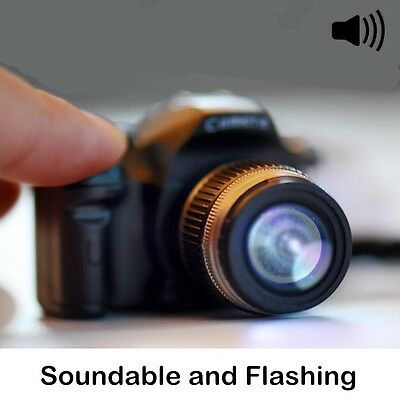 New Type Camera With Flash Light Lucky LED Luminous Keychains Creative Gifts Hot