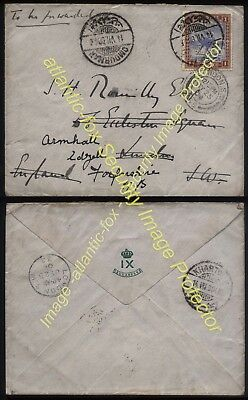 1904 SOUTH SUDAN IX SUDANESE ARMY Capt B Romilly, OMDURMAN fine 4 page letter