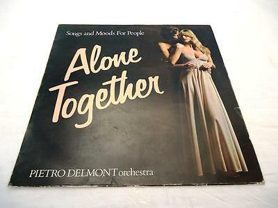 Alone Together Pietro Delmont Orchestra 1974 Ex Lp Shrink Cover Sleeve Only