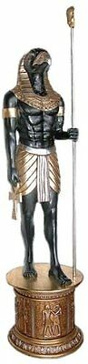 NE23662 -The Egyptian Grand Ruler Collection: Life-Size Horus Statue - 7'+