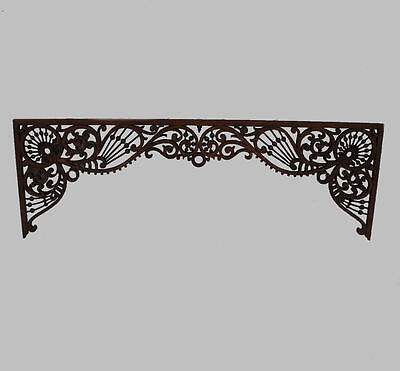 Antique Victorian Oak Fretwork – Stick and ball design - Architectural piece
