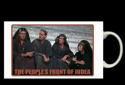 LIFE OF BRIAN. People's Front Of Judea MUG. Monty Python