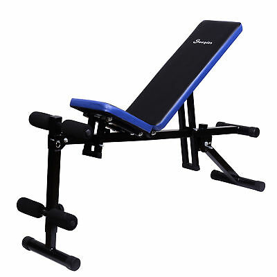 Adjustable Sit Up Bench Abdominal Trainer Multi Exercise Equipment Home Gym