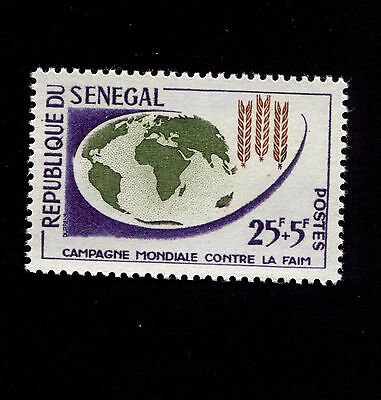 OPC 1968 Senegal Freedom from Hunger Semi Postal Sc#B17 MNH