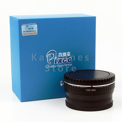 Pixco Speed Booster Focal Focus Lens Adapter Ring For Canon EF EOS To Sony NEX