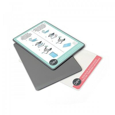 Sizzix Texture Boutique Embossing Pads 1 Pair + Shim - 656471 Replacement Plates