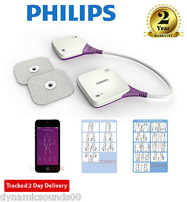 Philips Pulse Relief Wireless Electrotherapy 15TENS 5EMS iOS Android App PR3840