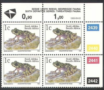South Africa (RSA) 1993 Ghost Frog/Amphibians/Animals/Nature/Frogs c/b (za10081)
