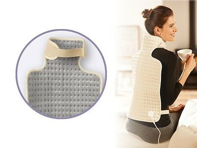 NEW Extra Soft Electric Soothing Back & Neck Heat Pad GREAT CHRISTMAS GIFT IDEA